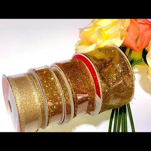 New! Five Spools of Gold Ribbon